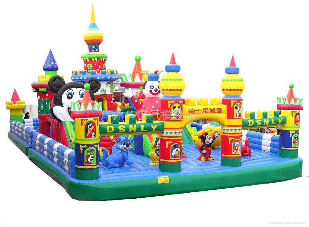Structures gonflables pour enfants projetmirette - Acheter structure gonflable ...